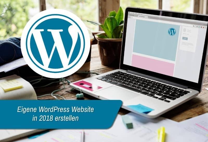 WordPress Website erstellen in 2018