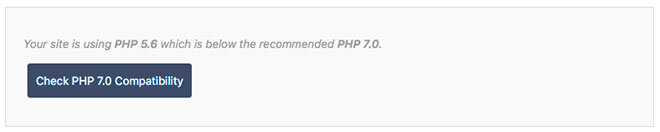 PHP7 compatibility check